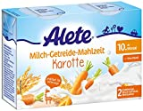 Alete Milch-Getreide-Mahlzeit Karotte, praktisch für...